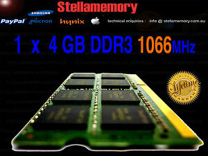4GB-DDR3-1066MHz-1066-LAPTOP-RAM-HP-TOSHIBA-DELL-SONY
