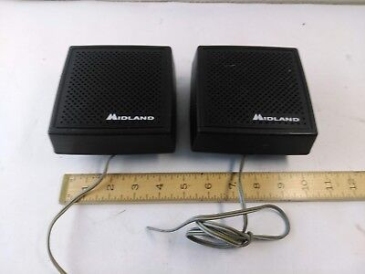 Lot Of 2 Midland 70-2355 Mobile Radio Extension Speakers
