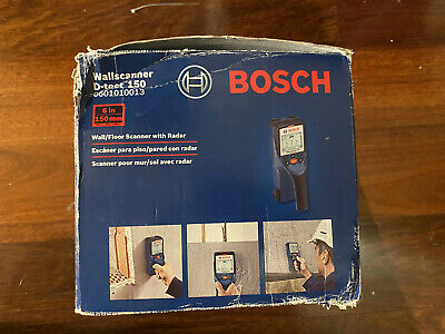 BRAND NEW! BOSCH Bosch Wall Scanner D-TECT150CNT [Genuine]