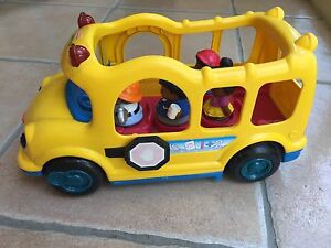 Fisher Price 'Little People' bus Taringa Brisbane South West Preview