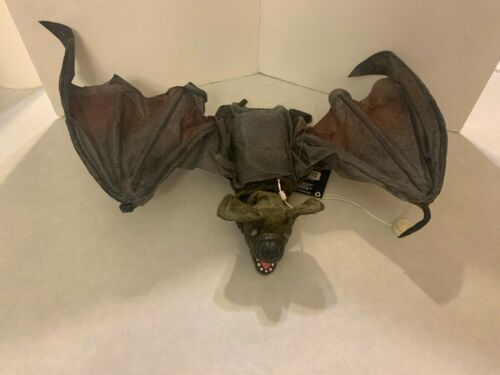 Gemmy Halloween - Large Animated Flying Vampire Bat - Sound and Motion Activated