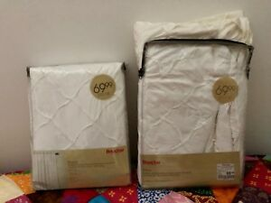 BNWT Bouclair Curtains