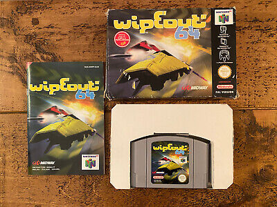 Nintendo 64. Wipeout 64. Boxed & With Full Manual. Good Condition.