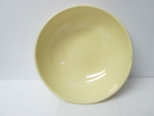 LuRay Pastels TST Serving Bowl, Yellow 4471, Mid Century Taylor Smith Taylor MCM