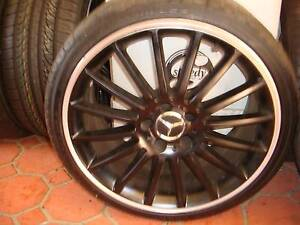 1 x Only Used Rephica AMG Mercedes Benz Rim 5 Stud x 112 PCD Green Valley Liverpool Area Preview