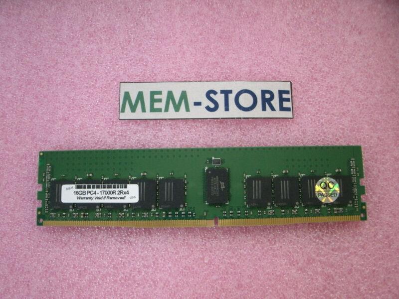 16GB DDR4 2133MHz ECC RDIMM Memory Compatible KVR21R15D4/16, A7910488