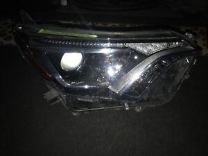 2017 RAV4 passenger headlight LED
