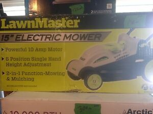 "LAWN MASTER - 15"" ELECTRIC MOWER"