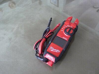 Milwaukee 2205-20 True Rms Fork Meter Very Nice Condition Ready To Work
