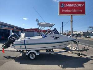 2007 5m Allison Cuddy Cab - 75hp Mercury Optimax only 20hrs Findon Charles Sturt Area Preview