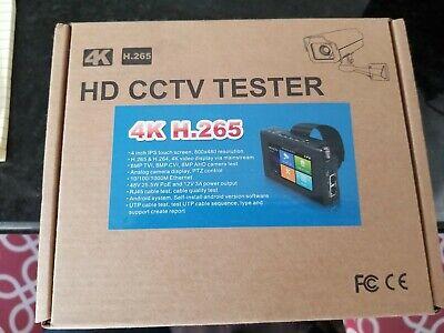 4 Hd Ip Cctv Tester Monitor H.265 4k