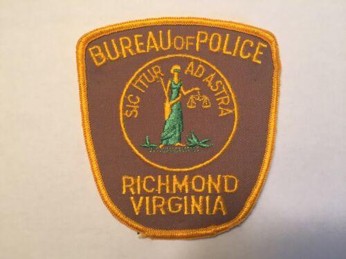 Richmond VIRGINIA Police Patch