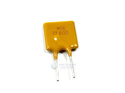 50pcs 6a 16v 6000ma Polyswitch Resettable Fuse Poly Switch Fuses Polyfuse