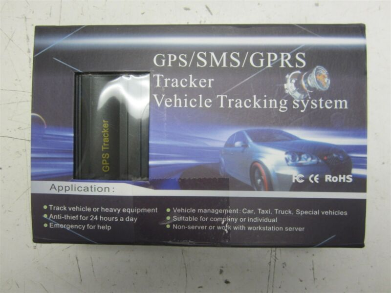 GPS/SMS/GPRS Tracker Vehicle Tracking System – Untested