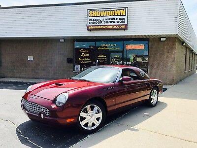 2004 Ford Thunderbird  2004 Ford Thunderbird Convertible w/ hardtop - Merlot exterior - leather..wow