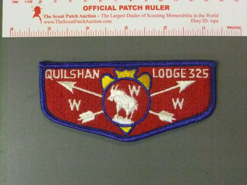 Boy Scout OA 325 Quilshan flap 7716JJ