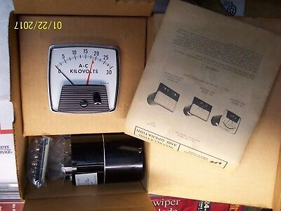 Lfe 8889-0003 Kilovolts Meter Relay Control Unit With Meter