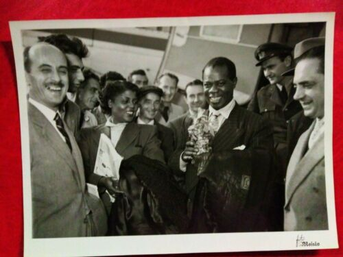 Jazz vintage Louis Armstrong photo