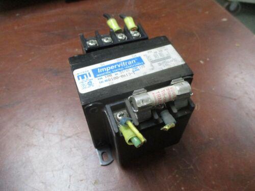 Micron Impervitran Control Transformer B100-0613-1 0.100KVA Pri: 208/380/575V