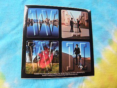 Pink Floyd W.Y.W.H. Wish You Were Here 4 Inch Sticker