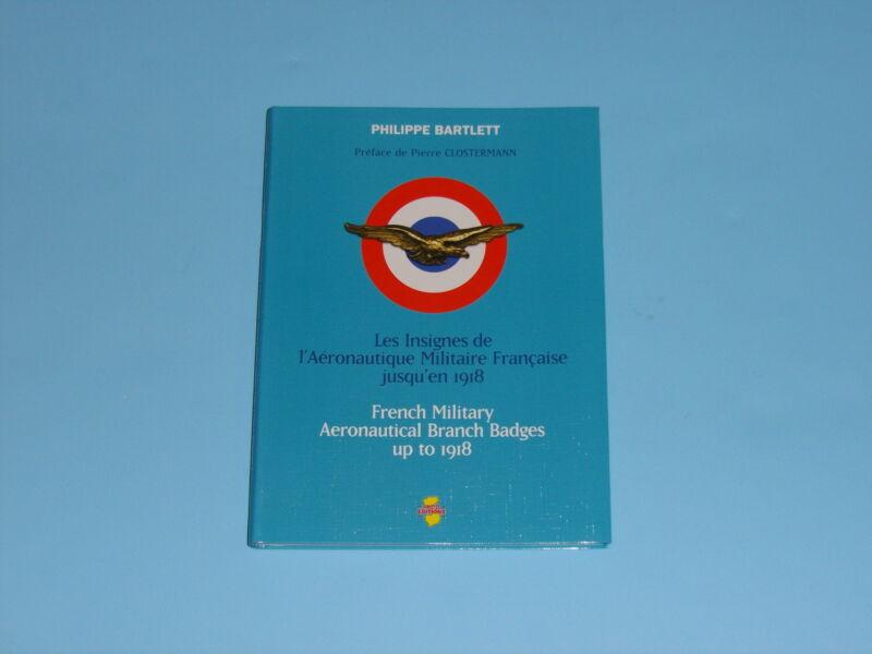 b0137 WW 1 book on French Aviation Badges Aeronautical Militaire R2123