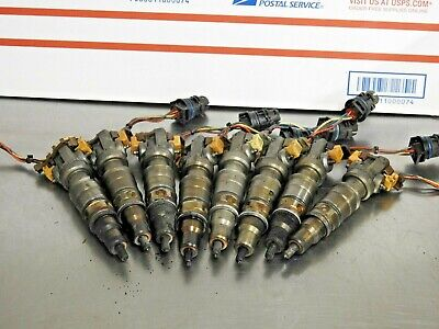 2003-07 Ford F250 F350 diesel 6.0L fuel injector 6.0 powerstroke Whole set of 8