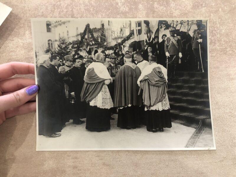 Photo Photography Monsignor Russian Theologian Galé Gaetano Toselli