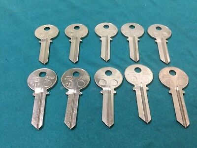 Ilco Key Blanks 998s Set Of 10 - Locksmith