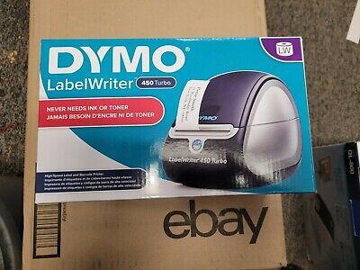 New Dymo Labelwriter 450 Turbo 1752265 Free Shipping