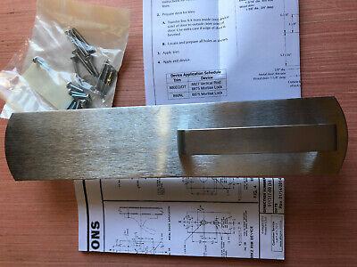 Von Duprin Modern Door Handle 880dt-mv Us26d 041203-26 Instructions Included N