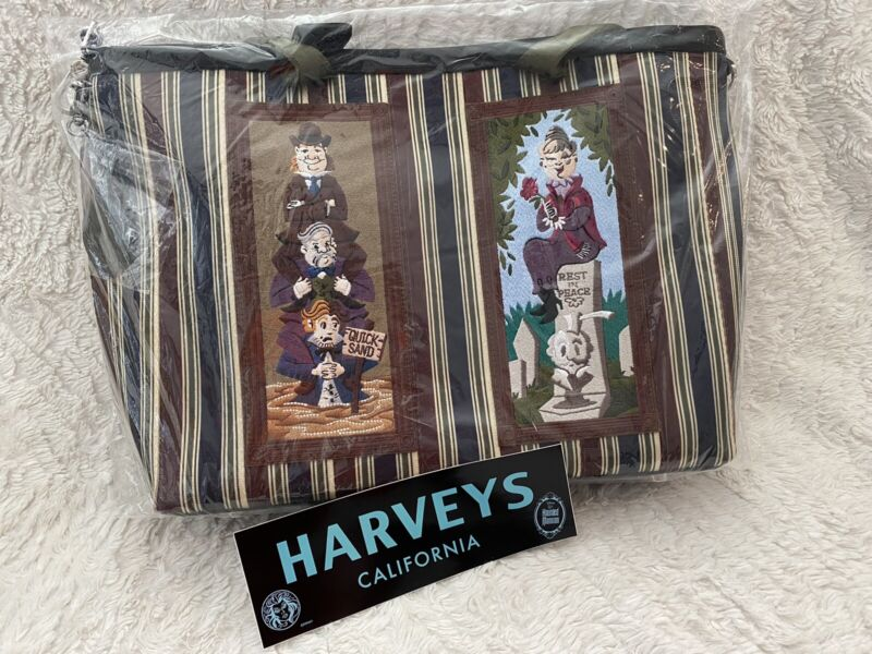 NWT Harveys Haunted Mansion Portrait Stretching Room Tote Vertical Streamlime