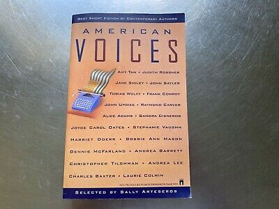 American Voices : Best Short Fiction by Contemporary Authors by