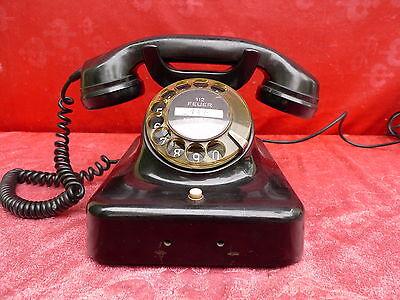 altes Telefon__Bakelit__W 48__Siemens !