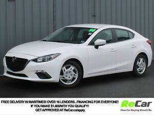 2014 Mazda 3 GS-SKY 6-SPEED | BACK UP CAM | ONLY $54/WK TAX I...