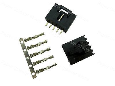 10x Molex 5 Pin 2520 Locked Dupont Connector Plug I Socket Terminal Pin