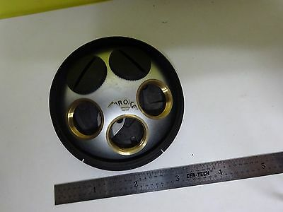 For Parts Microscope Leitz Germany Ergolux Nosepiece As Is Binp7-24