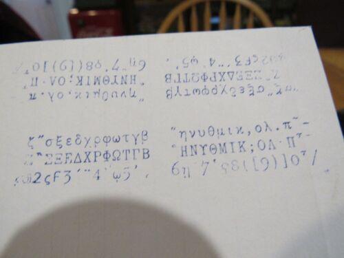 VINTAGE ORIGINAL EARLY 1900s HAMMOND MULTIPLEX TYPEWRITER RUSSIAN SHUTTLE NOS