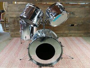 Vintage Stewart chrome MiJ drum set