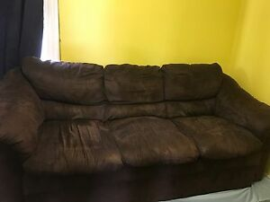 Brown couch for sale