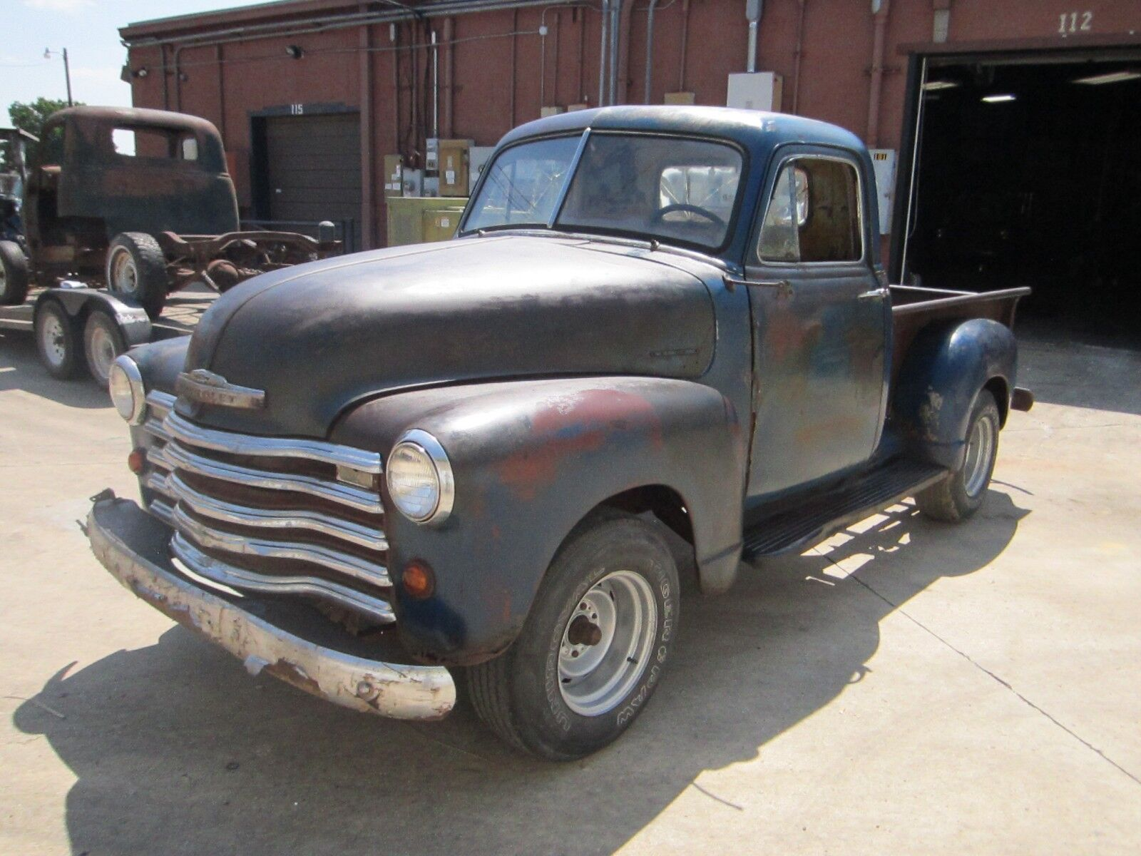 1951 Chevy 3100 Truck No Reserve Rat Rod Patina Barn Find ...