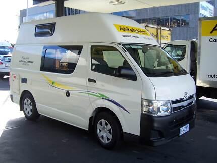 2013 Toyota Hi-Ace Hi Top Camper