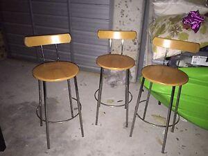 3 Tall stools Haberfield Ashfield Area Preview