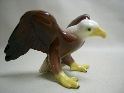 Older Version Miniature Hagen Renaker Ceramic Eagle Figurine