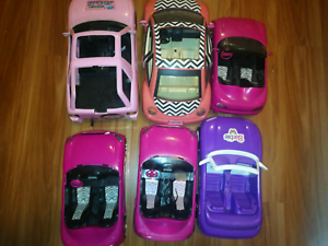 Barbie Doll Cars Bundle Toys