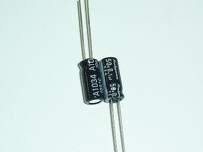 50pcs 50v0.1uf 50v Yxa Rubycon Standard Capacitor 5x11mm 105