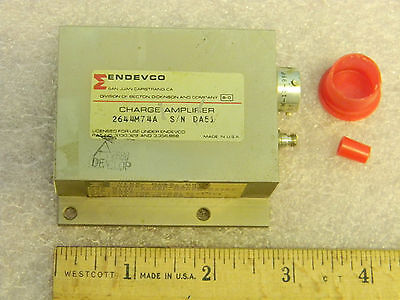 Endevco 2644m74a Vibration Charge Amplifier 28820a-030