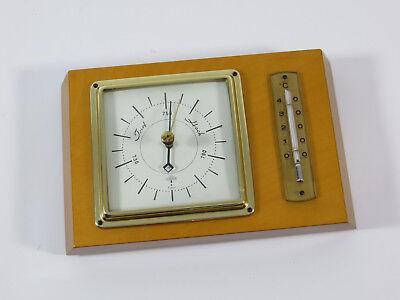 FORSTER TORR Vintage Wetterstation Thermometer Barometer