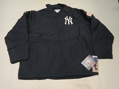 Authentic New York Yankees Mens TRIPLE CLIMATE Dugout Jacket Sm Reg.$224.99 ()