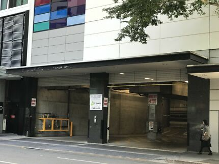 Brisbane City secured carpark for rent.