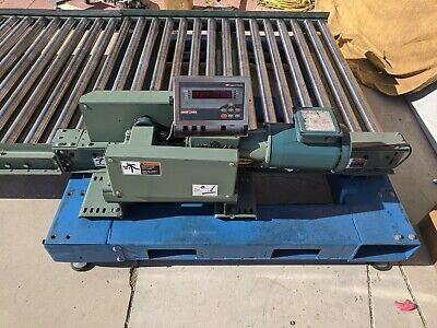 25 Hytrol Roller Conveyor With One Chain Driven Section Scale